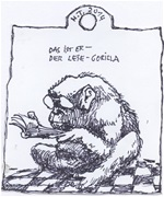 Zeichnung von Heiner Thomas 2014